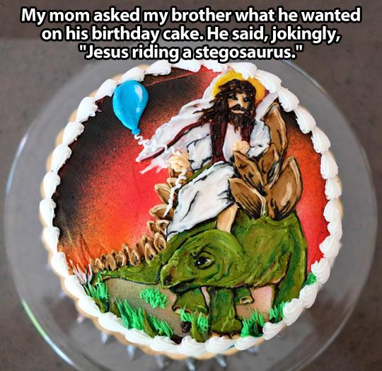 funny-cake-Jesus-riding-stegosaurus-1